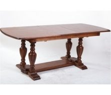 Деревянный стол Палермо 1600-2000х900х760 мм обеденный раскладной