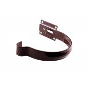 Держатель желоба Profil металл. малый 130 мм коричневый