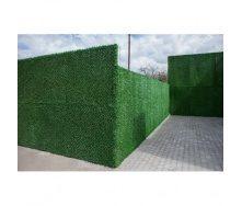 Зеленый забор Dark Green из искусственной травы ПВХ 1,60х10 м