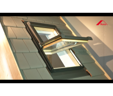 Окно мансардное Designo WDT R45 H N AL 05/11 EF