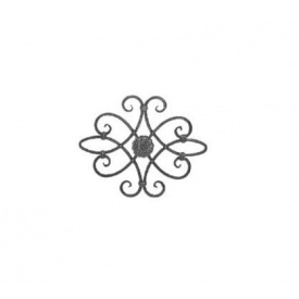 Кованая Розета 530х420