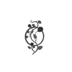 Кованая Розета 500х280