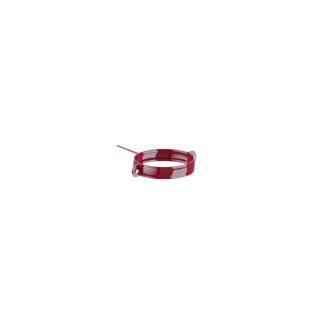 Держатель трубы Fitt металл. 80 мм 100 мм красный