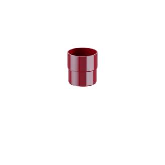 Соединитель трубы Fitt 80 красный