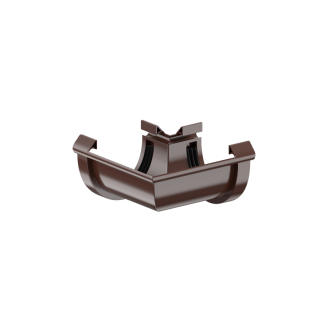 Угол Fitt 135 градусов 125 мм коричневый