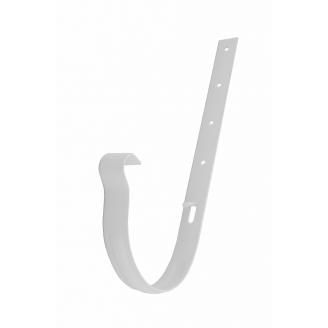 Держатель желоба Profil металл. 130 мм белый