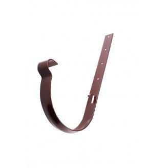 Держатель желоба Profil металл. 130 мм коричневый