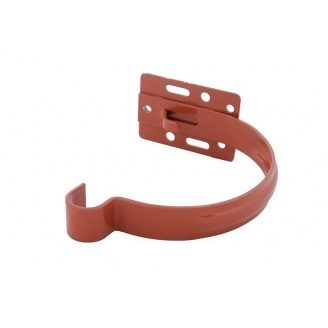 Держатель желоба Profil металл. малый 90 мм кирпичный