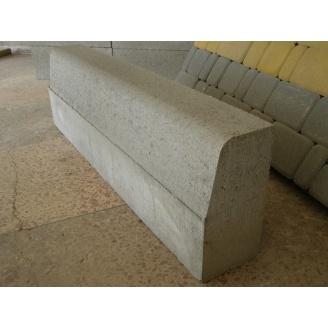 Бордюр дорожный БР 1000х300х150 мм серый