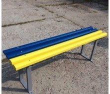 Лавка садово-парковая Импекс-Груп Стандарт 1500х330х480  мм с металлическими ножками