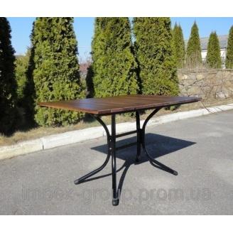 Стол уличный Импекс-Груп Премиум сосна 1200х800х730 мм с металлическими ножками (IMPA833)