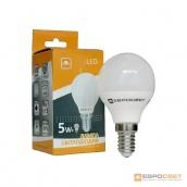 Лампа світлодіодна ЕВРОСВЕТ 5 Вт 4200 К Р-5-4200-14 E14