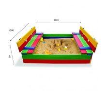 Детская песочница SportBaby-29 100х100 см