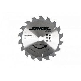 Круг пильный по дереву STHOR 250/30 мм 3 мм 40 зубов