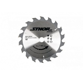 Круг пильный по дереву STHOR 200/30 мм 2,2 мм 24 зубов