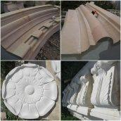 Изготовление деталей за спецификацией из песчаника