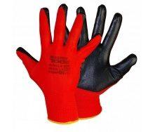 Перчатки трикот. бесшовные MASTERTOOL 83-0401 с покрытием ладони