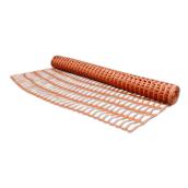 Сітка захисна BRADAS BARRIER NET 100 г/м2 90x25 мм 1x30 м помаранчева