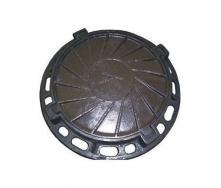 Люк чугунный канализационный тяжелый В-Б 25 т с замком (2.04.1) (IMPA541)
