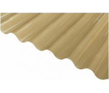 Шифер ПВХ Salux W 76/18 волна бронзовая 1,8х0,9 м