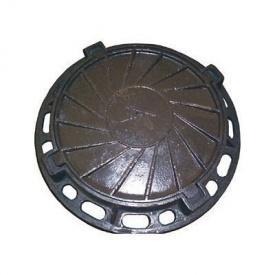 Люк чавунний каналізаційний важкий В-Б 25 т з замком (2.04.1) (IMPA541)
