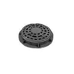 Дощоприймач чавунний круглий ДКЛ 3 т з замком (4.05.3) (IMPA393)