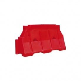 Блок дорожній Імпекс-Груп водоналивний 480х800х1500 мм червоний