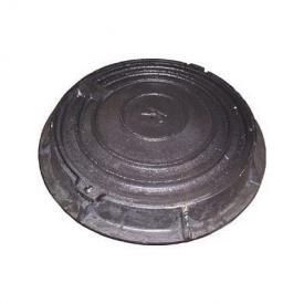 Люк чавунний каналізаційний легкий Л-Д 3 т (1.08) (IMPA605)