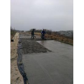 Будівництво бетонної дороги під ключ