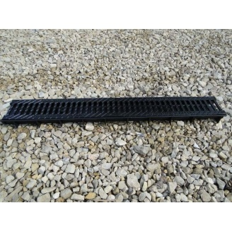 Решетка дорожная пластмассовая ХП 810х400x80 мм (р608) (IMPA409)
