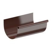 Желоб Fitt 125 3 м коричневый