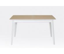 Стіл розсувний Сингл-4 Лофт Мікс-меблі 1300-1600х770х800 мм білий