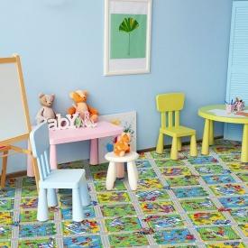 Килим в дитячу кімнату Конструктор