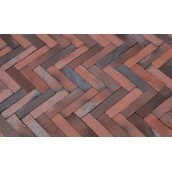 Клинкерный тротуарный кирпич Hagemeister Monasteria ригель 208x50x50 мм