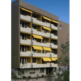 Тканевые навесы для балкона под заказ