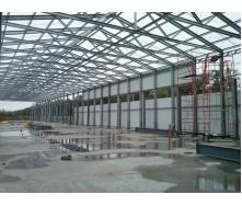 Будівництво цеху під ключ по ЛСТК технології