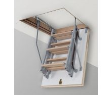Чердачная лестница Altavilla Termo Plus Metal 4 s 100x60 крышка 46 мм
