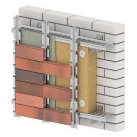 Вентилируемая фасадная система HostRock Klinker