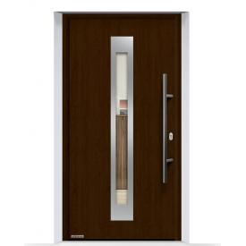 Двері вхідні Hormann Thermo 65 750F Night Oak