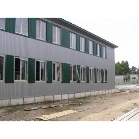 Строительство металлокаркасных строений под ключ по ЛСТК технологии