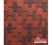 Битумная черепица Tegola Mosaic Красный гранит
