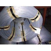 Дріт оцинкований термічно необроблений твердий ГОСТ 3282-74 1,8 мм