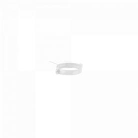 Тримач труби Fitt металевий 100 мм L 220 мм світло-сірий (RAL 7035)