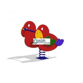 Гойдалка на пружині Папужка A-5500
