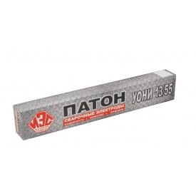 Электроды сварочные УОНИ 13/55 3,0 мм Патон 5 кг