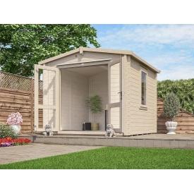 Домик садовый из профилированного бруса 3х3 м