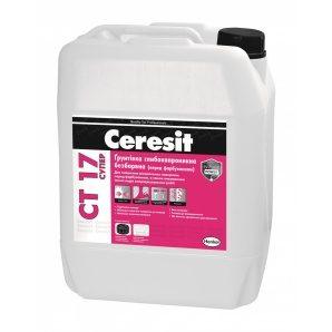 Глубокопроникающая грунтовка Ceresit СТ 17 Супер 10 л