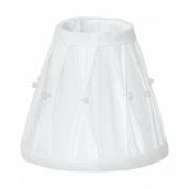 Абажур для світильника EGLO 1+1 Вінтаж білий (49959)