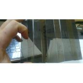 Профилированный монолитный поликарбонат Borrex бронза 1,05x2 м