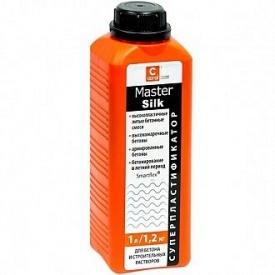 "Пластификатор для бетона Coral ""MasterSilk"" 1 л"